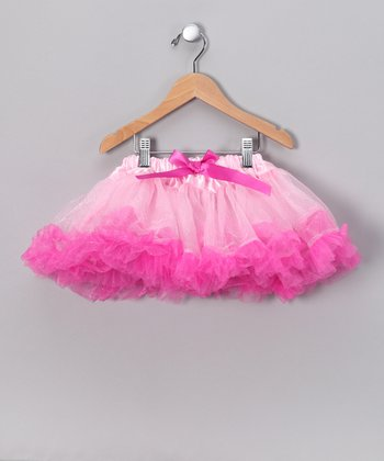 Light Pink & Fuchsia Pettiskirt - Toddler