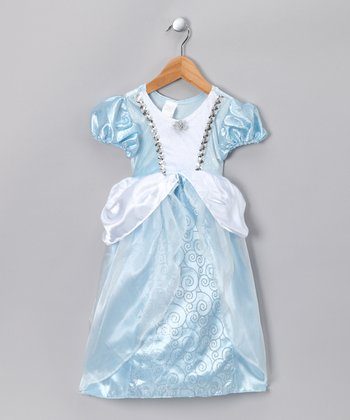Blue Cinderella Dress - Toddler & Girls