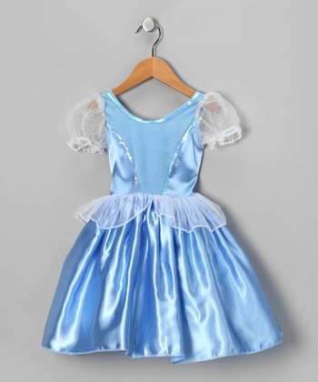 Blue Sequin Dress - Infant