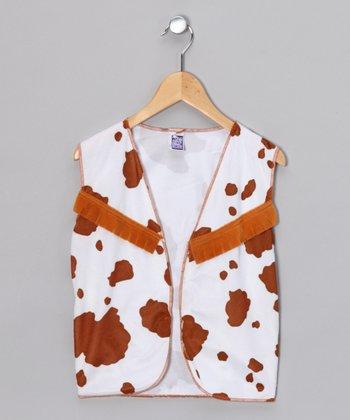 Brown Cowboy Vest - Kids