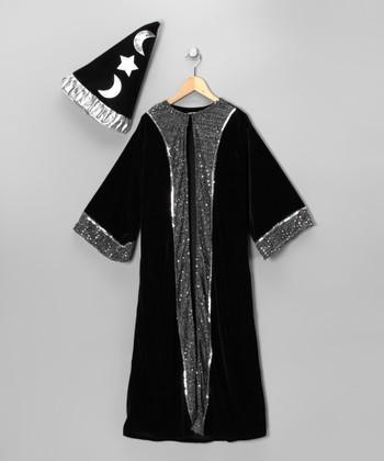 Black Wizard Dress-Up Set - Kids