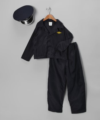 Navy Airline Pilot Dress-Up Set - Kids