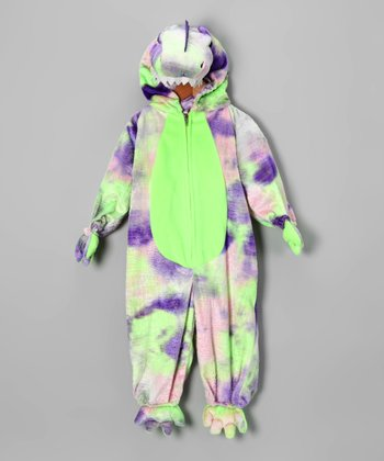 Purple & Green Dinosaur Dress-Up Outfit - Infant & Toddler