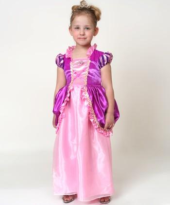 Pink & Purple Princess Dress - Toddler & Girls