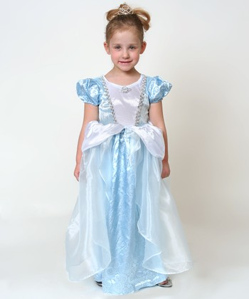 Light Blue Princess Dress - Toddler & Girls