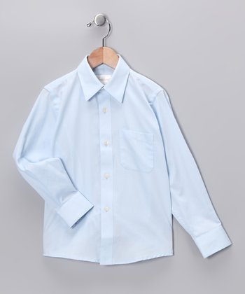 Light Blue Button-Up - Toddler & Boys