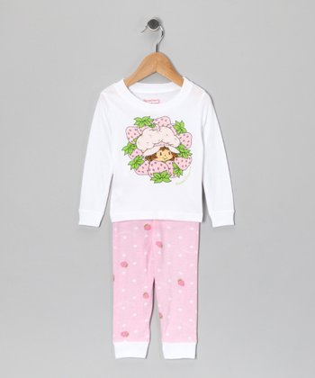 Pink Strawberry Shortcake Pajama Set - Infant & Toddler