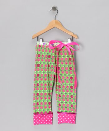 Raspberry Tart Leggings - Girls