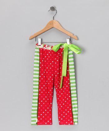 Strawberry Shortcake Leggings - Girls