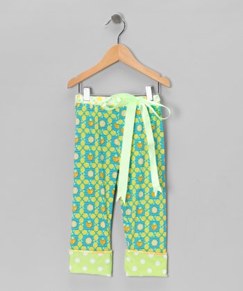 Lemon Meringue Leggings - Girls