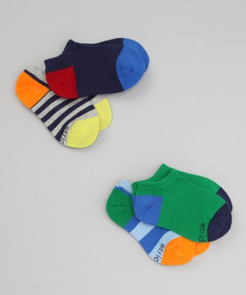Color Block Socks Set