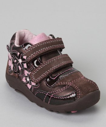 Brown & Pink SRT Darling Dora Shoe