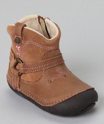 Carmel SRT SM Heather Tab Ankle Boot