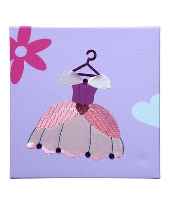 Ball Gown Embellished Wall Art
