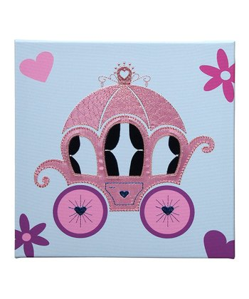 Carriage Embellished Wall Art