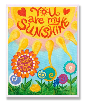 'You Are My Sunshine' Wall Art