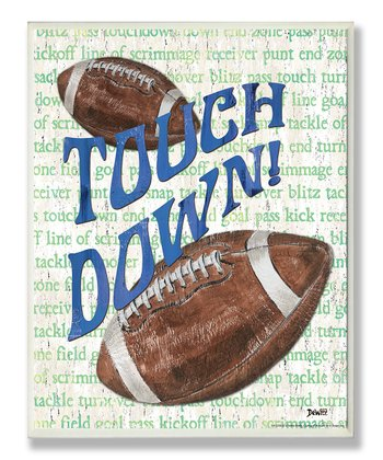 'Touchdown' Wall Art
