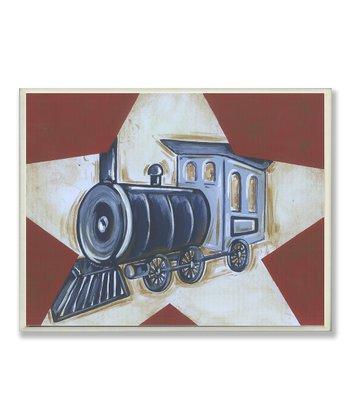 Train & Star Wall Art