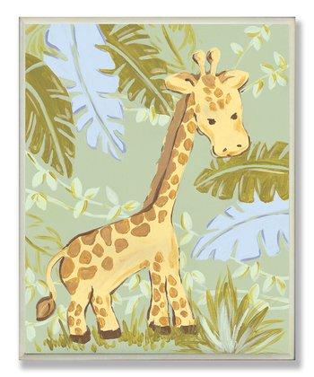 Giraffe Jungle Wall Art