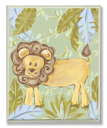Lion Jungle Wall Art