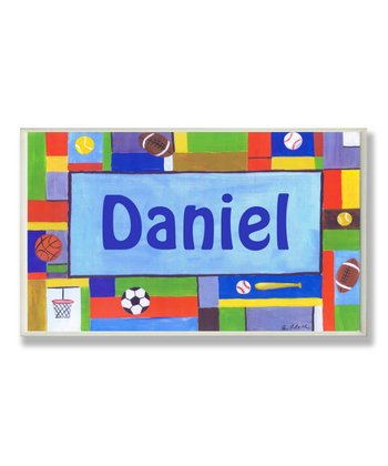 Sports Contemporary Personalized Wall Art
