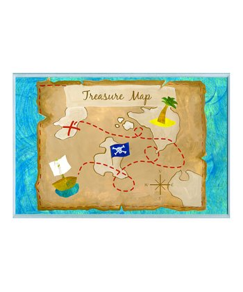 'Treasure Map' Wall Art