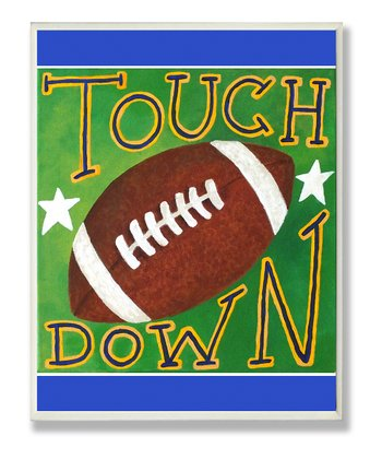 'Touchdown' Football Wall Art