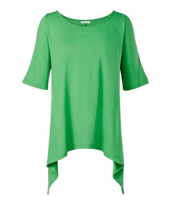 Lime Phoenix Sidetail Top