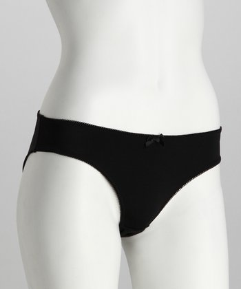 Black Genie Maternity Bikini Briefs - Women