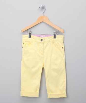Lemon Capri Pants - Infant