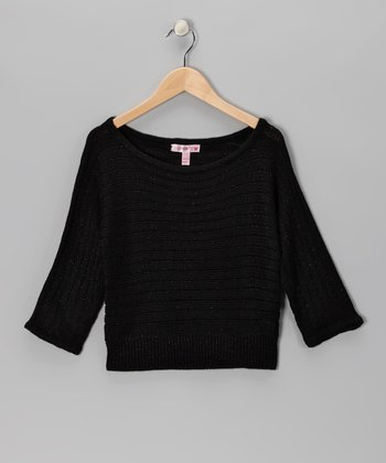 Black Sparkle Sweater