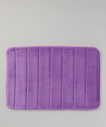 Purple Microfiber Bath Mat
