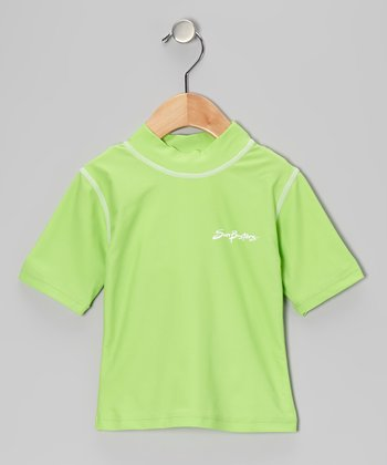 Apple Green Rashguard - Infant, Toddler & Boys