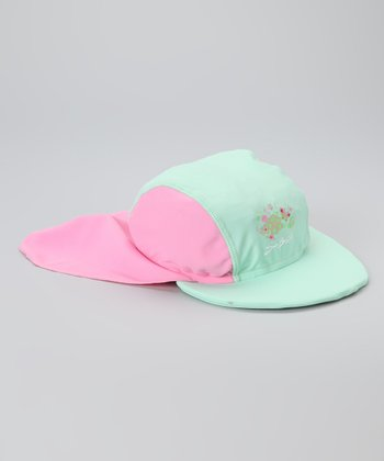 Mint & Cotton Candy Desert Hat