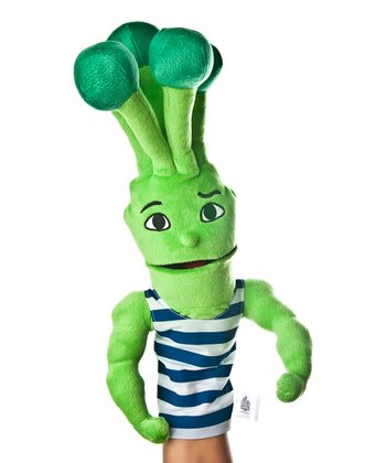 Green Brian Broccoli Puppet