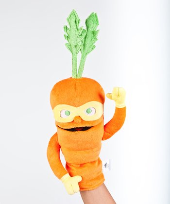 Orange Colby Carrot Puppet