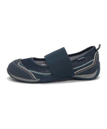 Superfit Navy & Gray Hopal Flat