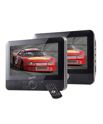 Dual-Screen DVD Player