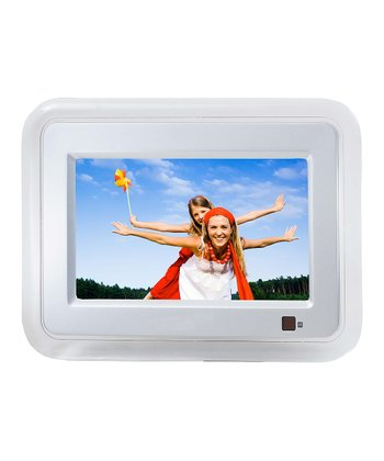 White Digital Photo Frame
