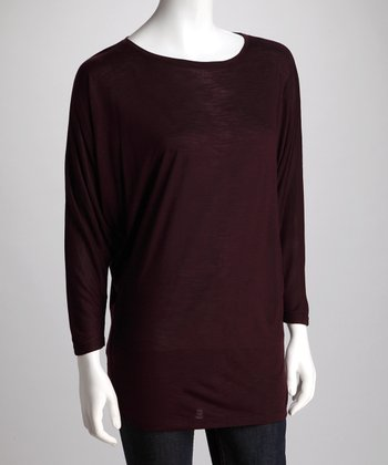 Fig Dolman Top