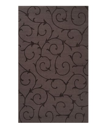 Gray Bristol Wool Rug