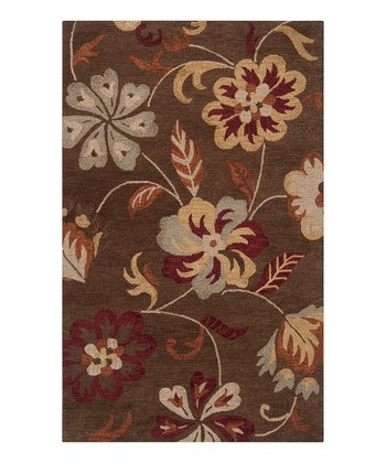 Dark Brown Centennial Wool Rug