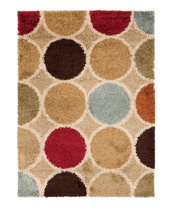 Khaki Green & Safari Tan Rosario Rug