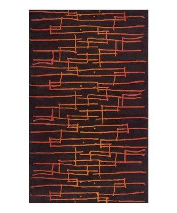 Rust & Orange Graduated Signature Wool Rug