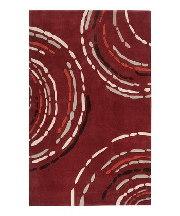 Rust Red Sprint Rug