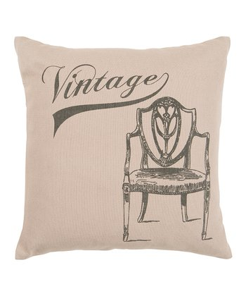 'Vintage' Throw Pillow