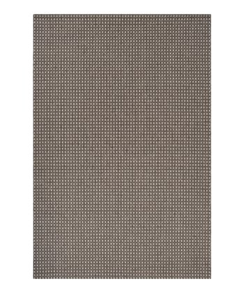 Dark Gray & Light Gray Elements Indoor/Outdoor Rug
