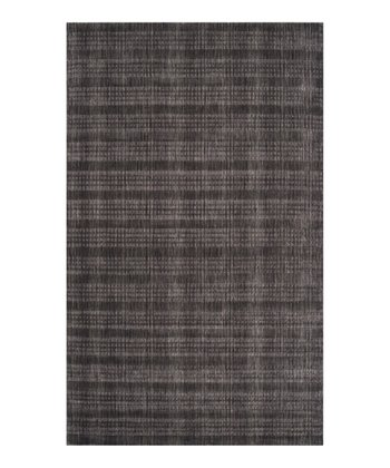 Charcoal Indus Valley Wool Rug