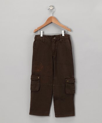 Chocolate Energy Cargo Pants - Boys
