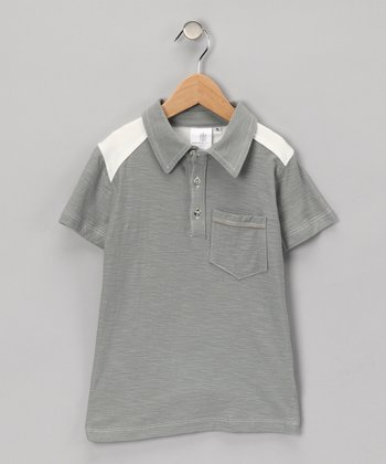 Smoke Peter Organic Polo - Toddler & Boys